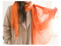 TAKEFU 竹布 平織ストール  (70cm×170cm) 〜癒しと生命力をもたらす天然素材〜