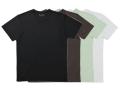 TAKEFU 竹布Tシャツ Men's (丸首半袖) 〜癒しと生命力をもたらす天然素材〜