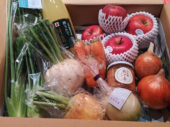 【限定販売】 「信州健康倶楽部 玉手箱」 ~テネモス理論・自然の法則を応用してつくられた野菜・フルーツ・加工食品のお楽しみ詰め合わせセット~