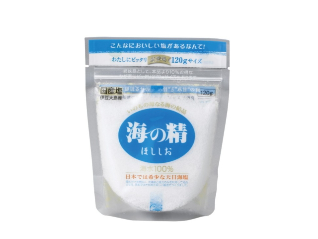 海の精 ほししお (青) 120g