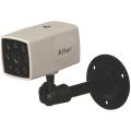 家庭用防犯カメラ・防災のことなら新研企画,CMOSセンサー,水に強い防滴構造,音声マイク付,夜間撮影,赤外線LED,小型,AT-1200