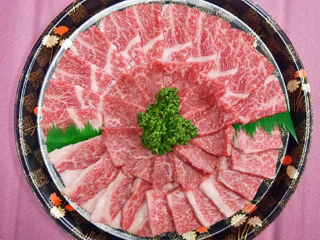 鹿児島県産黒毛和牛焼肉セット 約600g