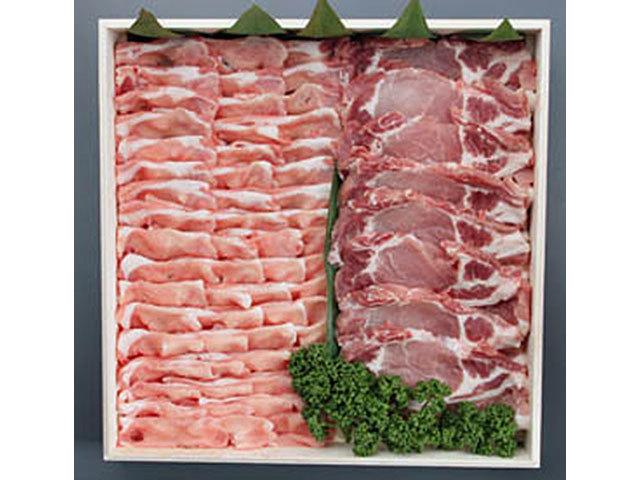 鹿児島県産黒豚セット 約2kg入