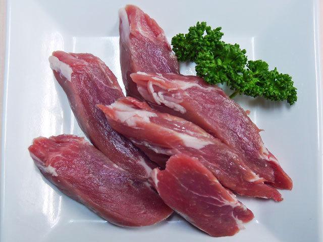 鹿児島県産黒豚ヒレとんかつ用 10枚入 約200g~250g