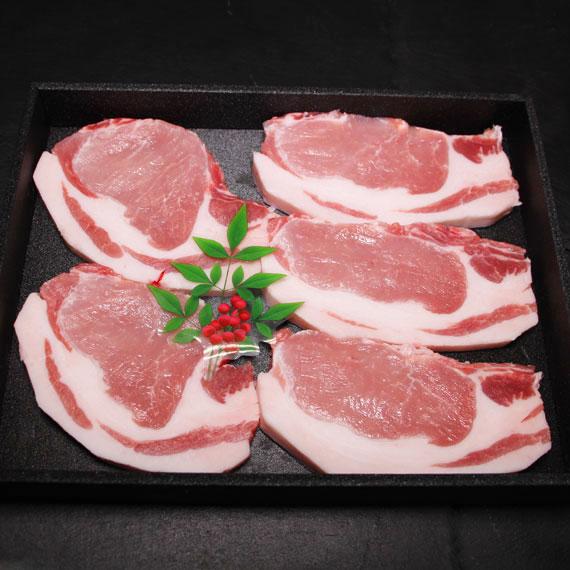 鹿児島県産黒豚ロースとんかつ用 約500g (入り枚数おまかせ)