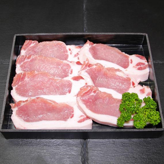 鹿児島県産黒豚ロースとんかつ用 約700g (入り枚数おまかせ)