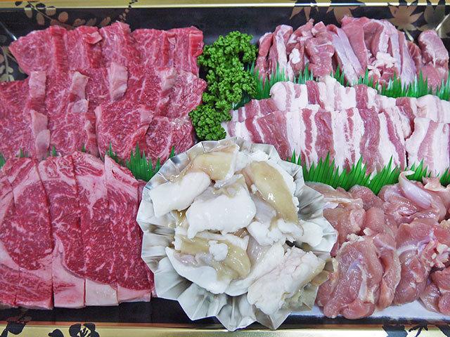 新村畜産オリジナル焼肉セット(5~6人前)
