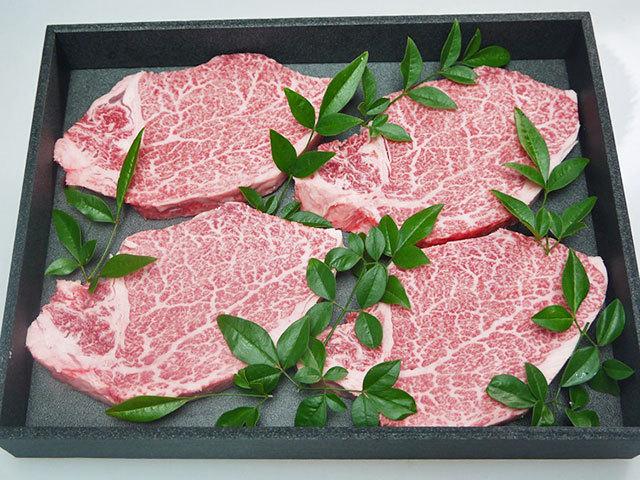 鹿児島県産黒毛和牛ヒレステーキ 約180g×4枚