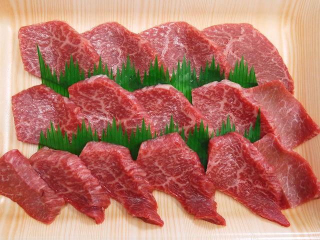 鹿児島県産黒毛和牛特モモ焼肉用 約300g