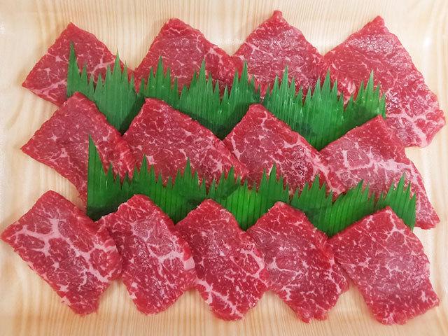 鹿児島県産黒毛和牛 もも焼肉用 約200g