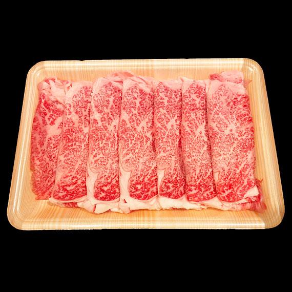 鹿児島県産黒毛和牛A4-A5ランク リブロース すき焼き・しゃぶしゃぶ用 約400g