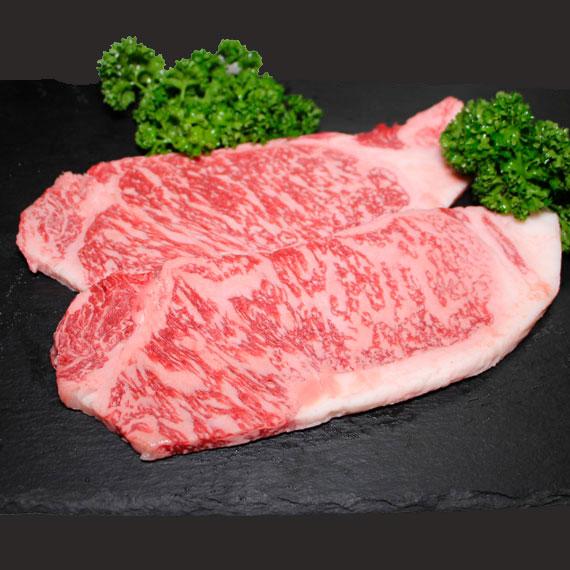 鹿児島県産黒毛和牛A4-A5ランク サーロインステーキ 約180g×2枚