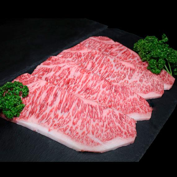 鹿児島県産黒毛和牛A4-A5ランク サーロインステーキ 約180g×4枚