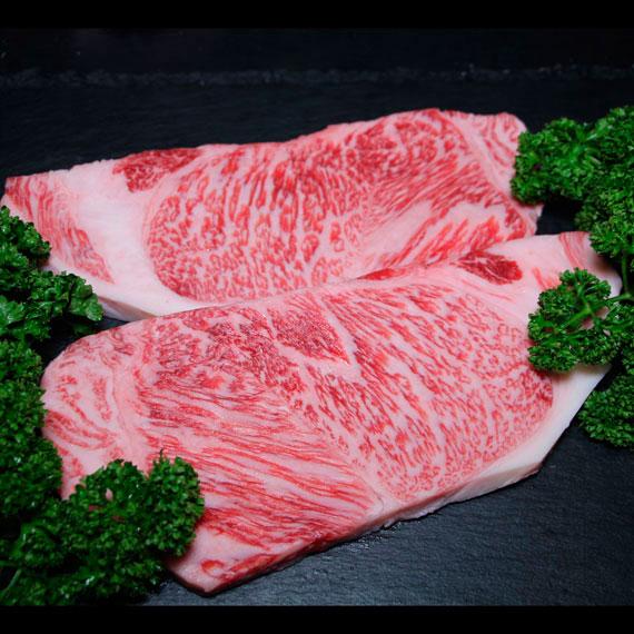 鹿児島県産黒毛和牛A4-A5ランク 厚切りサーロインステーキ 約250g×2枚