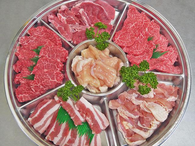 新村畜産オリジナル焼肉セット(3~4人前)