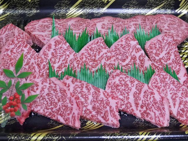 鹿児島県産黒毛和牛極特ロース焼肉用 約200g