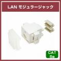 【ソリッド】RJ45用 CAT5E LAN モジュラージャック【#LAN-MJC5E】【SOLID アンテナ部品】
