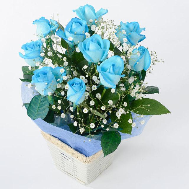 ローズアレンジメント BLUE