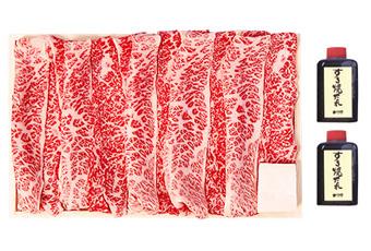 すき焼セット(上バラ肉)