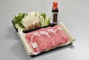 <野菜付き>すき焼セット(肩ロース肉)