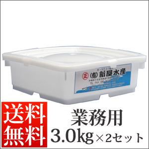 塩太もずく3kg×2セット【送料無料】※生産量の減少により販売を休止しております。