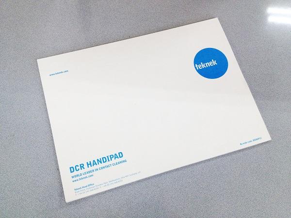 製品歩留まりを簡単かつ確実に改善!! DCRハンドローラー用粘着パッド