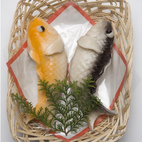 鯉の生菓子