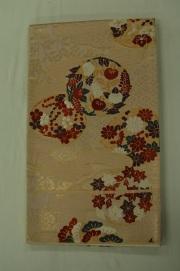 Monoki「モノキ」 【仕立て上がり 袋帯 ピンク 花丸 2137】 着物リメイク&リユース リサイクル