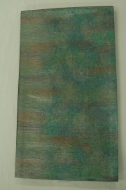 Monoki「モノキ」 【仕立て上がり 袋帯 エメラルドグリーン 梅ぼかし 2142】 着物リメイク&リユース リサイクル