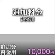追加決済用10,000円