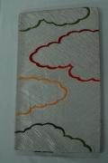 Monoki「モノキ」 【仕立て上がり 袋帯 白 雲柄 2146】 着物リメイク&リユース リサイクル