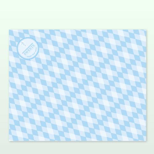 ラミクレープ包装紙ブルー