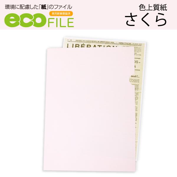 紙ファイルエコファイルさくら