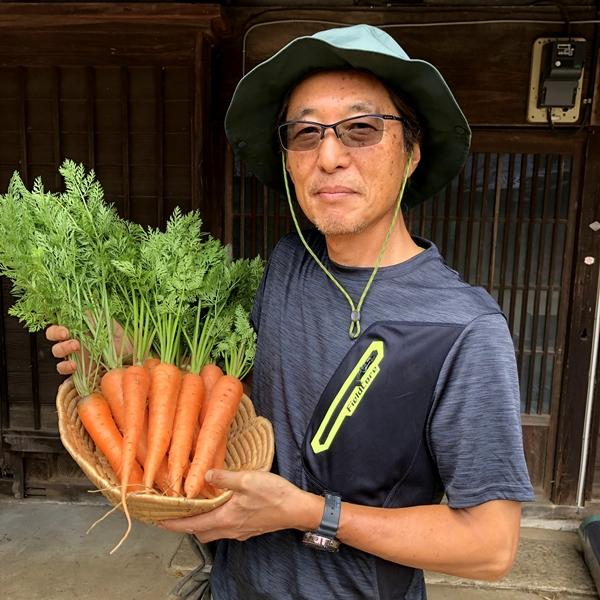 春紅五寸(はるべにごすん)人参2kg【農薬・化学肥料不使用】
