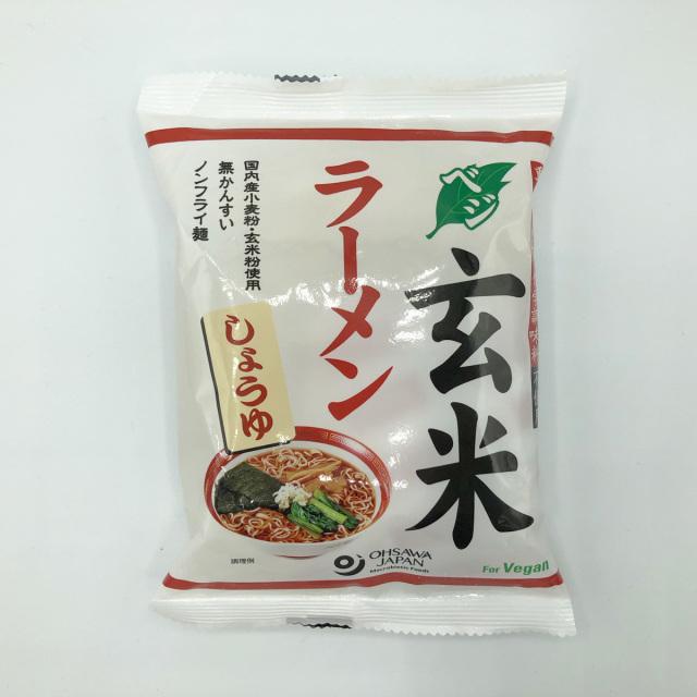 オオサワのベジ玄米ラーメン(しょうゆ)