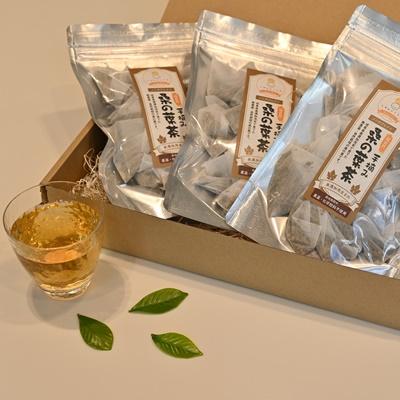岐阜県美濃加茂生まれ【オリジナルの手摘み 桑の葉茶 (ティ-バッグ 20ケ入x3パック)】自然栽培で育った超自然の健康茶