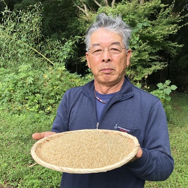 【2021新米】みつばちの里の米・こしひかり玄米9kg