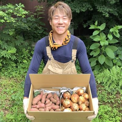 【無農薬】玉ねぎ・ジャガイモ4kg・8kgセット【2021年6月収穫】 ※送料込み