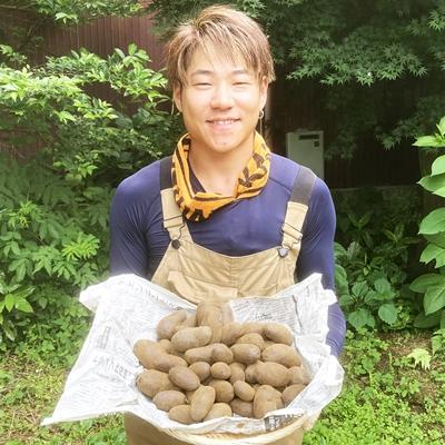 【2021年6月収穫】シャドークイーン(ジャガイモ)2kg【新ジャガ】