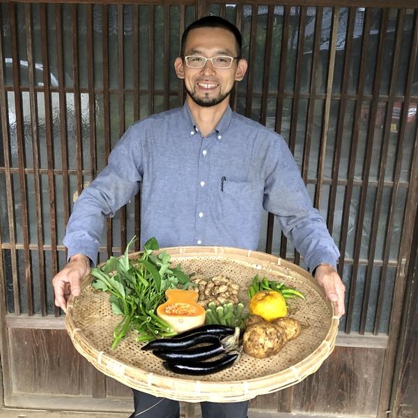 【定期宅配】 無農薬・自然栽培 季節の産直野菜いろどりセット Sサイズ 6~8種類