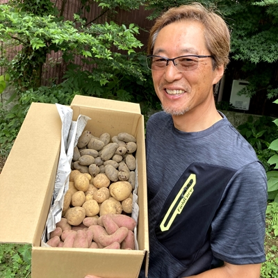 【2021年6月収穫】ジャガイモ三銃士(4kg)【新ジャガ】