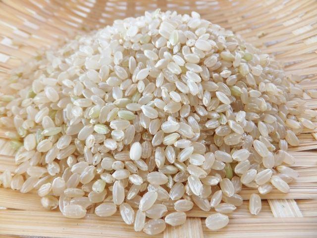 栄養価の高い玄米