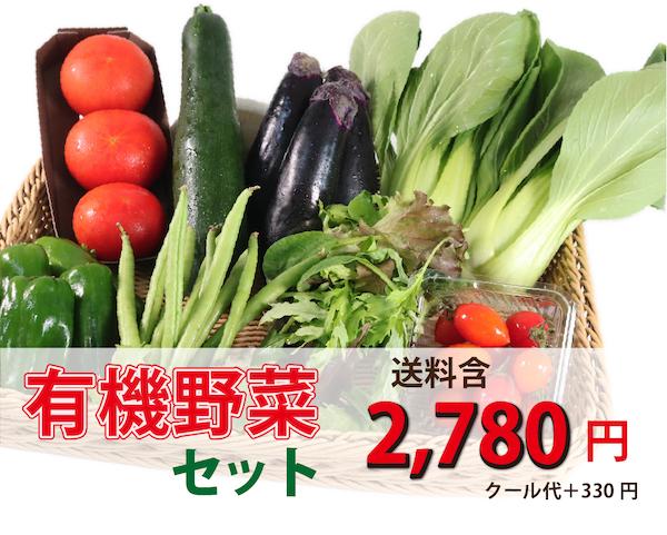 JAS有機 リピートさんもお買い得!月替わり有機野菜セット【送料込】
