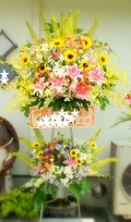 開店祝いスタンド花 静岡市のみ 送料無料