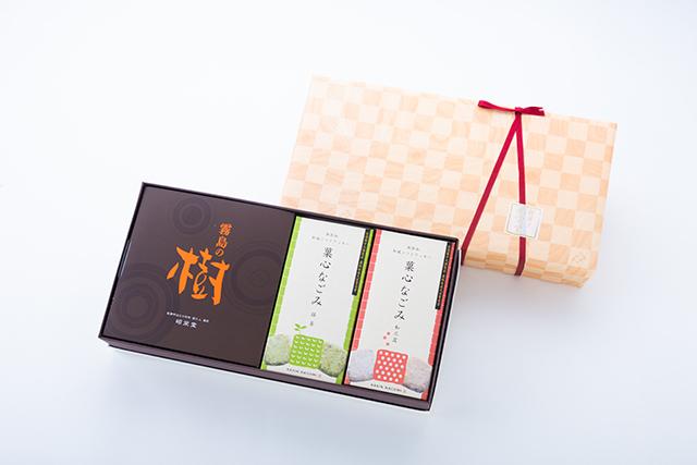 菓心なごみ2箱 霧島の樹セット