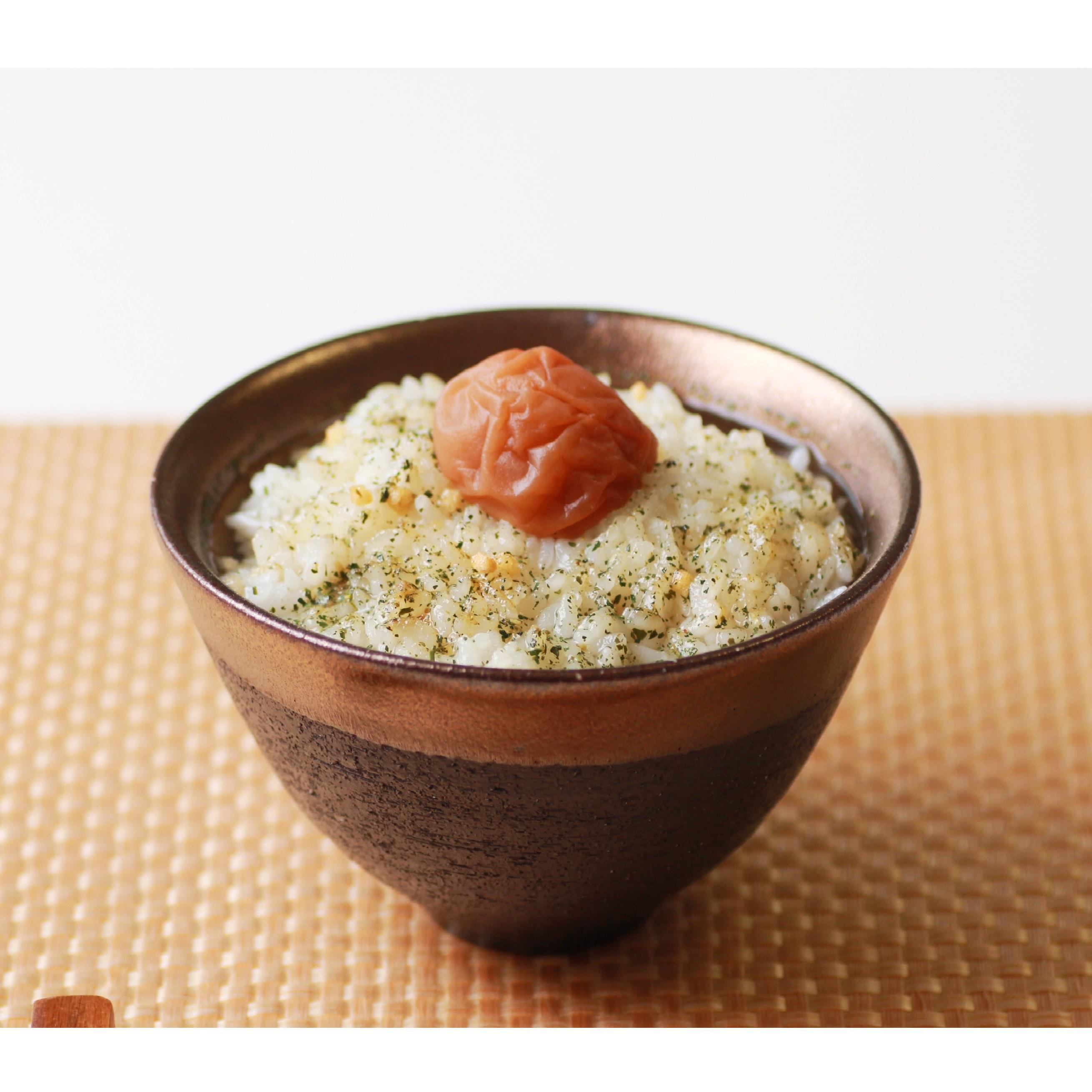 梅干専門店の贅沢山椒だし茶漬け 紀州南高梅添え(1袋)