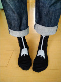 Drowse and yet・・・ハートと矢のSOX WhiteXBlack