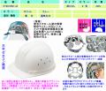 【谷沢製作所】新エアライト型ヘルメット【タニザワST#01690-JZ(EPA)】頭部のムレを防止する通気孔付き