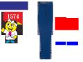 【XEBEC】秋冬作業服【ジーベック】1574レディスラットズボン