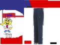 【XEBEC】春夏作業服ノータックピタリティラットズボン【ジーベック1666】吸汗速乾/帯電防止素材/作業カーゴパンツ